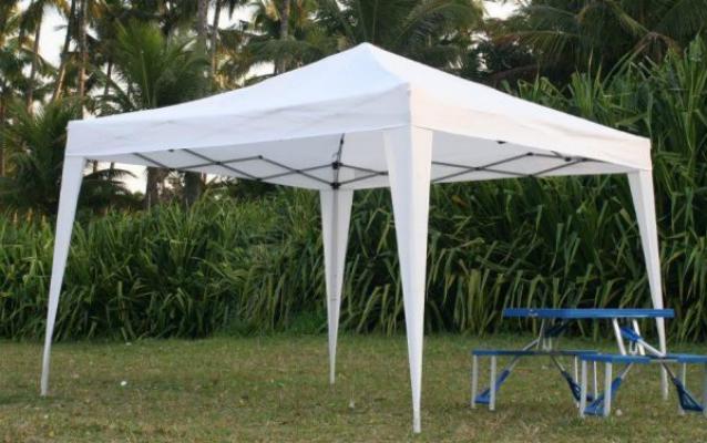 Como são as tendas de decoração (foto: internet)